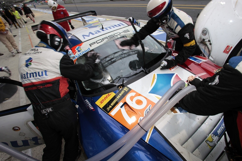 20130623 122013 - LeMans: Porsche führt in Le Mans beide GT-Klassen an