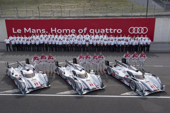 Audi peilt zwölften Sieg in Le Mans an
