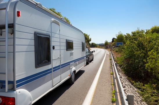 Mit dem Caravan auf Tour